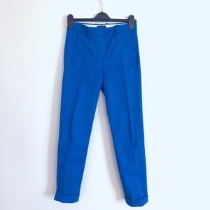 J Crew Maddie Pants in Electric Blue